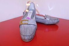 Calvin Klein Shoes 8.5 Gray Animal Print Dry Python Vapor Kadyn Loafer Flats #CalvinKlein #LoafersMoccasins #Casual