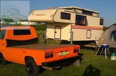 Demountable campers for sale - Page 239 Truck Camper, Camper Van, Cool Campers, Campers For Sale, Van Living, Tiny House Living, Transporter T3, Vw Camping, Camper