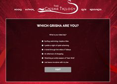 Which Grisha are you? Take our quiz and find out at GrishaTrilogy.com!