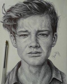 """143 curtidas, 1 comentários - Artsdeal (@artsdeal_brasil) no Instagram: """"Inacreditavel o retrato feito com caneta esferográfica por @gabrielvdesenhos.  Awesome the portrait…"""""""