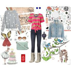 """""""weekend attire"""" by aniri310 on Polyvore"""