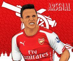 Arsenal Fc, Fifa, Soccer, Football, Illustration, T Shirt, Women, Fashion, Supreme T Shirt