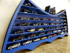 The boys are loving their new hotwheels display. | Making ideas ...