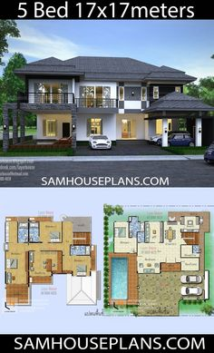 Home Layout Plans 838795499330156326 - House Plans Idea with 5 bedrooms – Sam House Plans Source by samphoasdesign Pool House Plans, House Layout Plans, Craftsman House Plans, Dream House Plans, House Layouts, Home Building Design, Home Design Floor Plans, Modern House Floor Plans, 2 Storey House Design