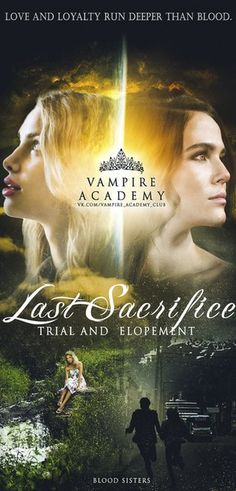Vampire Academy...if only the movie franchise would continue *sigh*