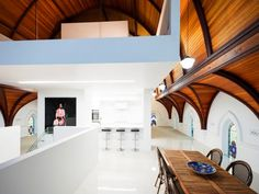 Church conversion - great timber feature