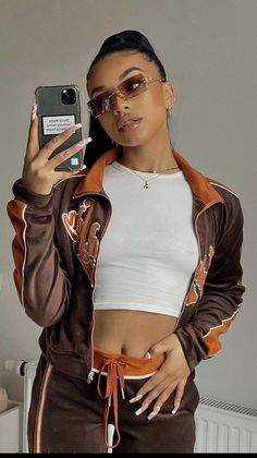 Teen Fashion Outfits, Mode Outfits, Retro Outfits, Look Fashion, Girl Outfits, Oufits Casual, Baddie Outfits Casual, Cute Swag Outfits, Stylish Outfits