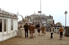 Palace Pier Brighton in the 70s