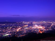 Mt.Sarakura with fantastic night view from 622m.