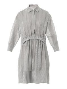Steffi striped cheesecloth shirt-dress | Stella McCartney | MA...