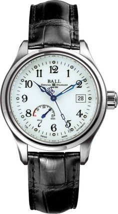 db88ea5c8f4 Ball Watch Company Trainmaster Power Reserve NM1056D-L1FJ-WH Watch