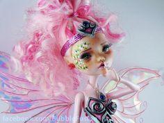Organza Ooak Monster High Art Doll