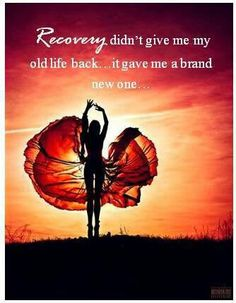 "THE BEST RECOVERY IS SPIRITUAL RECOVER: ""Put off your old self, which belongs to your former... life and is corrupt through deceitful desires... put on the new self, CREATED AFTER THE LIKENESS OF GOD in true righteousness and holiness."""