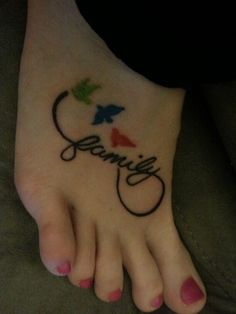 Getting This!!!!! with 4 birds, each one a color of our birthstones