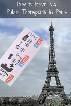 Getting around Paris using public transportation - how to guide