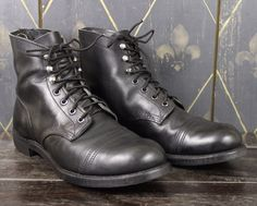 """Red Wing Iron Ranger 8114 Sz 9.5 Black Boots, 6"""", Heritage, USA Made, Workwear #RedWing #AnkleBoots"""