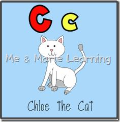 """Cc: Chloe the Cat"" Letter Pack (free)"