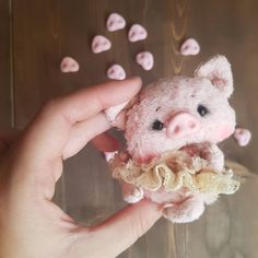 This Little Piggy, Little Doll, Teddy Toys, Teddy Bear, Pig Baby Shower, Frog Drawing, Pig Crafts, Cute Piggies, Baby Pigs