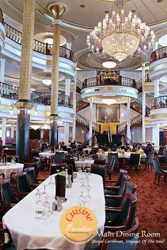 Voyager Of The Seas - Royal Caribbean International   ~ The Main Dining Room