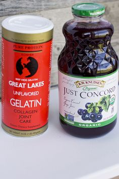 """The Benefits of Gelatin and Homemade """"Jello"""" Gelatin Recipes, Jello Recipes, Baby Food Recipes, Paleo Jello, Detox Recipes, Free Recipes, Homemade Jello, Homemade Baby Foods, Healthy Sweets"""