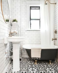A simple bathroom de
