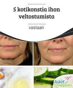 5 kotikonstia ihon #veltostumista vastaan  Vaikka ihollasi ei #näkyisikään merkkejä ikääntymisestä, sinun kannattaa silti alkaa käyttää näitä hoitoja saadaksesi pehmeämmän, tasaisemman ihon. #Kauneus