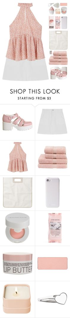 """""""let the words fall out"""" by via-m ❤ liked on Polyvore featuring Vagabond, MANGO, Christy, Monki, PhunkeeTree, Chantecaille, Josie Maran, Korres, shu uemura and Disney"""