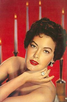 AVA Lavinia GARDNER (December 24, 1922 – January 25, 1990) was an American actress. She was signed to a contract by MGM Studios in 1941 and appeared mainly in small roles until she drew attention with her performance in The Killers (1946). She became one of Hollywood's leading actresses, considered one of the most beautiful women of her day.