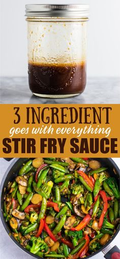 The BEST Stir Fry Sauce Recipe (goes with everything!) - Build Your Bite The BEST Stir Fry Sauce Recipe (goes with everything!) - Build Your Bite The BEST Stir Fry Sauce Recipe (goes with everything!) - Build Your Bite<br> Stir Fry Recipes, Sauce Recipes, Cooking Recipes, Gluten Free Stir Fry Sauce Recipe, Stir Fry Meals, Basic Stir Fry Sauce Recipe, Stir Fried Rice Recipe, Stir Fry Pasta, Best Stir Fry Recipe