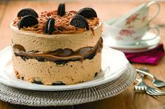 New Baking Recipes Oreo Desserts Ideas Oreo Torta, Oreo Cake, Chocolate Recipes, Chocolate Cake, Cupcake Frosting Recipes, Salty Cake, Savoury Cake, Cookies And Cream, Mini Cakes