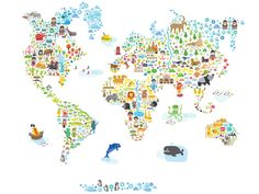 World Map from Pop