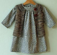 Ravelry: AliciaPaulson's Plain Vest and adorable polka dot dress