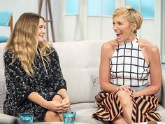 Star Tracks: Thursday, September 17, 2015 | HAPPY FACES | Drew Barrymore and co-star Toni Collette crack each other up while sitting down for a chat about their film Miss You Already on Britain's Lorraine talk show on Wednesday.