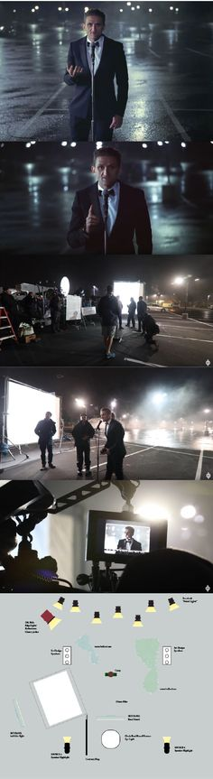 Casey Neistat Oscar Commercial Lighting Breakdown BTS