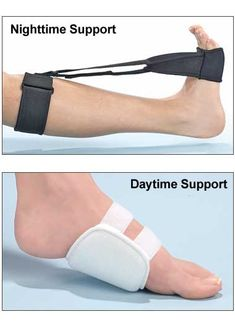 Plantar Fasciitis Splint-- doesn't look too comfortable but I wonder if it helps.
