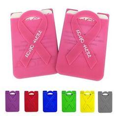 Breast Cancer Pink Ribbon Phone Wallets