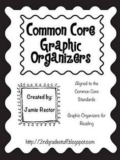 Common Core Graphic Organizers FREE!