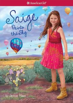 Saige Paints the Sky is the second book about Saige Copeland. Saige Copeland