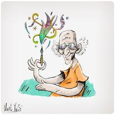 dibujando dibujantes: Moebius ~