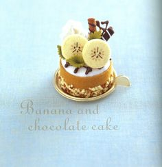 Ruko& Original Sweets Made from Felt Felt Cake, Felt Cupcakes, Felt Crafts Diy, Felt Diy, Felt Play Food, Food Patterns, Cute Polymer Clay, Cute Food, Sweets