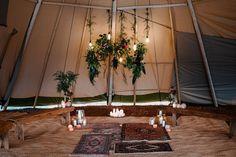 boho tipi wedding
