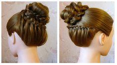 Chignon original facile ♡ Tuto coiffure cheveux mi long/long à faire soi...