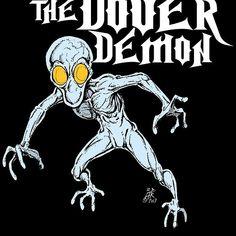 Dover Demon, Strange Beasts, Demon Art, Mothman, Mysterious Places, Urban Legends, Weird And Wonderful, Bigfoot, Paranormal