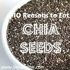 So... apparently they are not only edible, but very good for you! Who knew?! Ben and Me: S is for Seeds -- Chia Seeds (not just for Chia Pets anymore!)