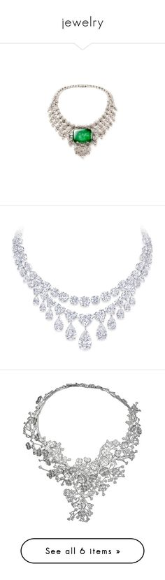 """""""jewelry"""" by susanp76 ❤ liked on Polyvore featuring necklaces, jewelry, accessories, colar, diamond, graff jewelry, diamond necklace, diamond jewellery, diamond jewelry and colares"""