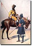 British Empire: Armed Forces: Indian Army: Cavalry: 1st Bengal Lancers