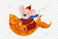 mouse riding a koi Page Design, Web Design, Chinese New Year 2020, Digital Media Marketing, Year Of The Rat, Image File Formats, Book And Magazine, Spring Festival, National Flag
