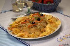 Receita de Receita de bacalhau à minhota. Descubra como cozinhar Receita de bacalhau à minhota de maneira prática e deliciosa com a Teleculinária!