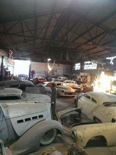 Garage of half finished dreams.