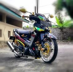 20 Gambar Seni Modif Supra X 125 Terbaik Seni Sepeda Motor Honda